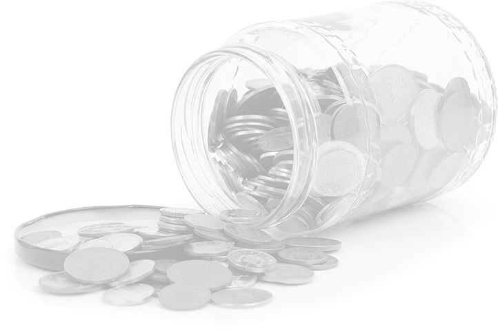Image of a jar of change