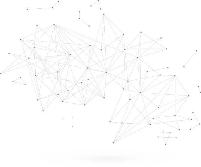 Image of a network of lines and dots